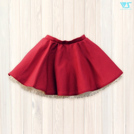 SD Flared Skirt (Red)